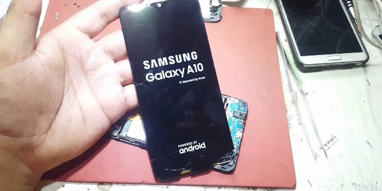 display samsung a10